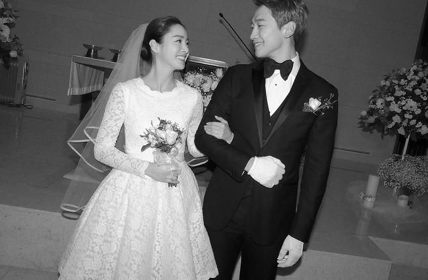 Pernikahan Rain dan Kim Tae Hee