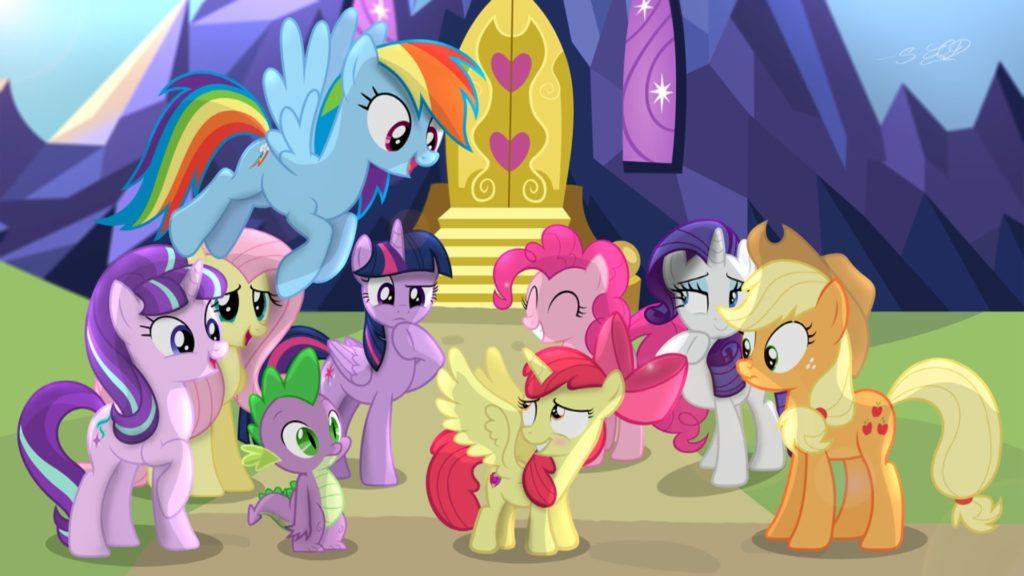 My Little Pony 2017 Petualangan Seru Para Kuda Poni Manis Layar Id