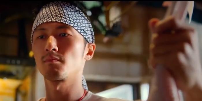 Nicholas Tse sebagai koki dari tiongkok