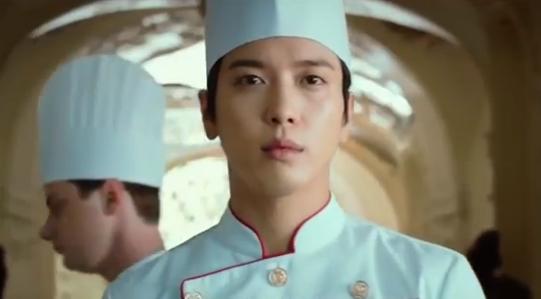 Jung Yong Hwa sebagai koki masakan perancis