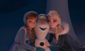 Frozen Olaf's Frozen Adventure