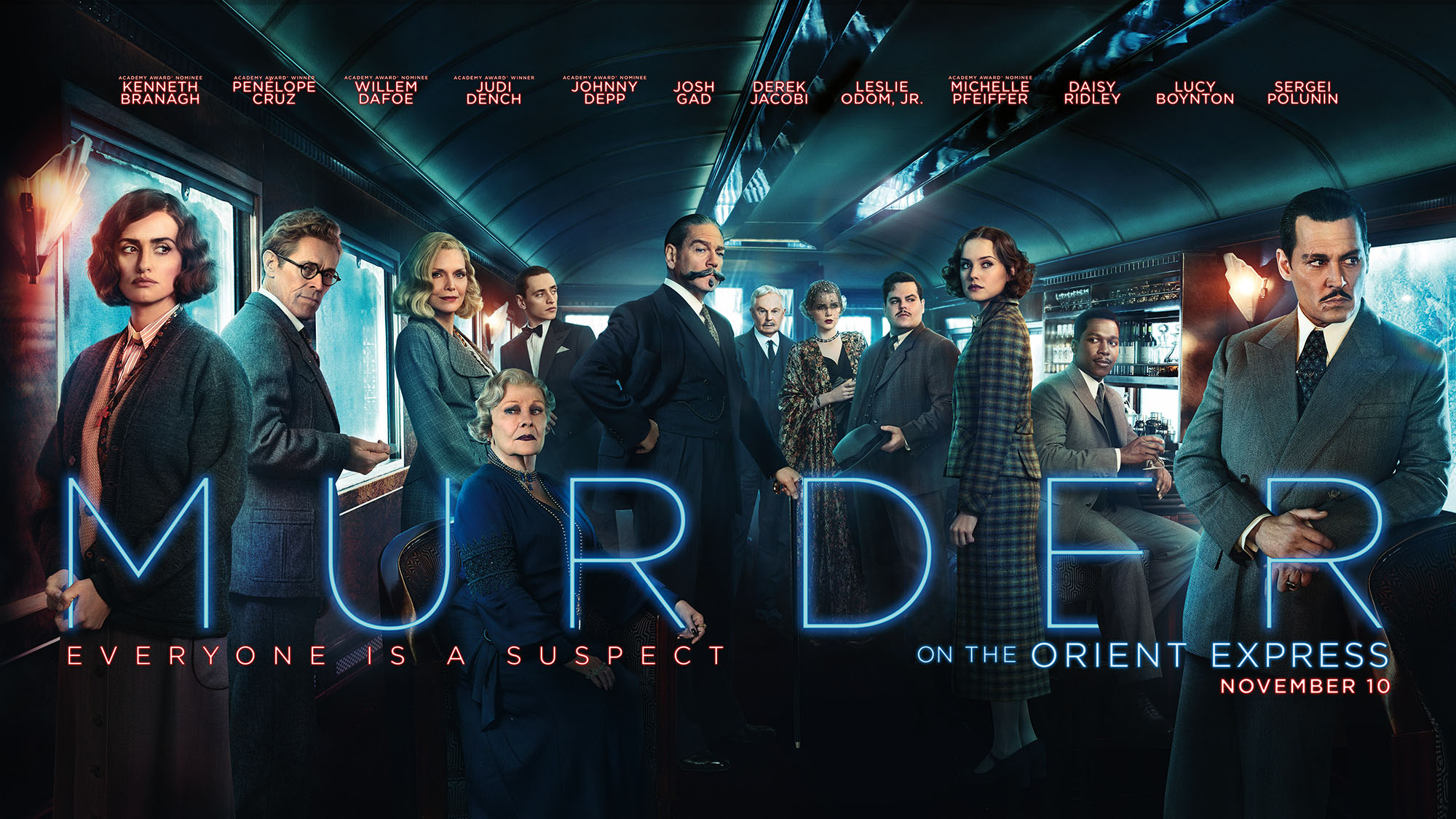 Image result for murder on the orient express 2017 poster