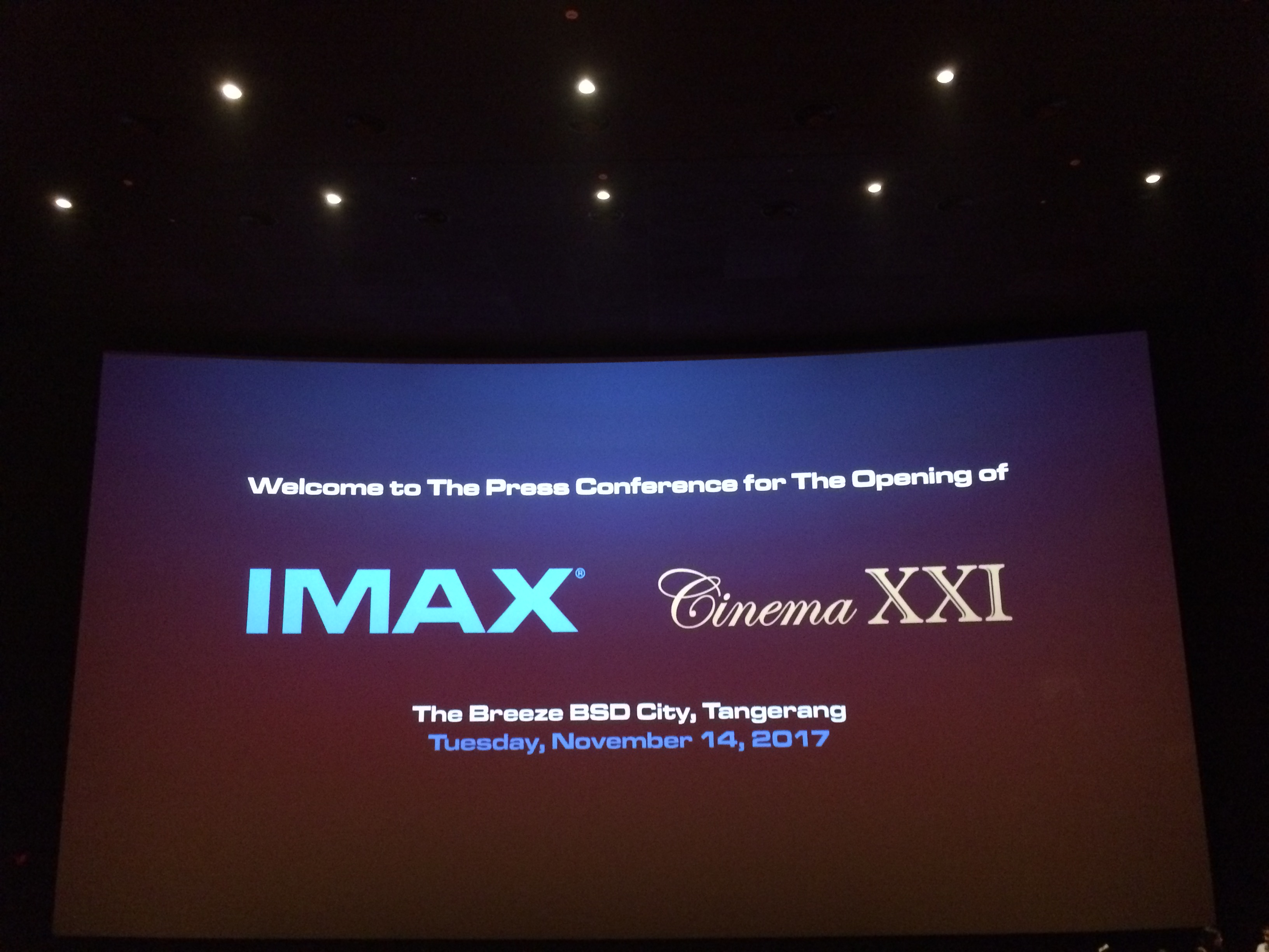 IMAX The Breeze BSD