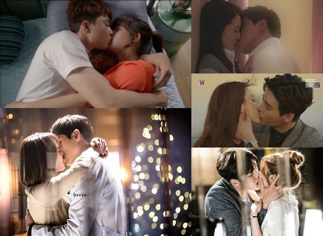 ciuman romantis dalam drama korea