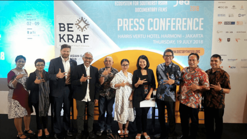 Peserta Indonesia Dalam Ajang Film Dokumenter In-Docs By The Sea 2018