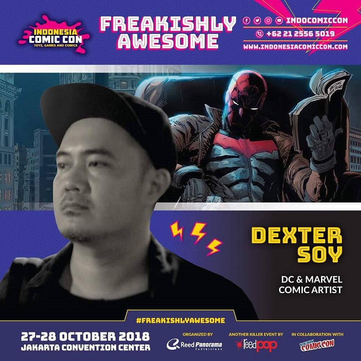 Upcoming Event INDONESIA COMIC CON 2018 - Artis Komik DC & Marvel Bakal Hadir