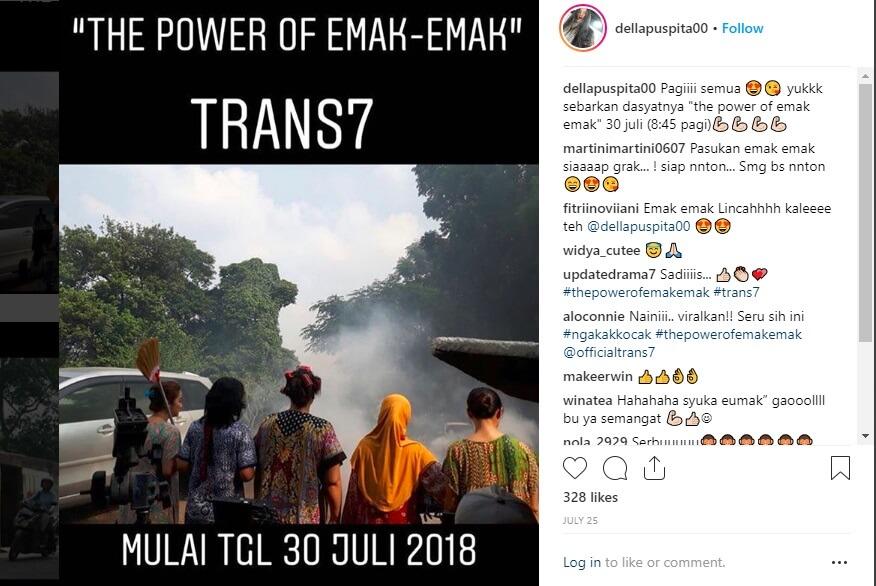 Lihat Aksi Para Emak Di Sinetron THE POWER OF EMAK-EMAK Trans7