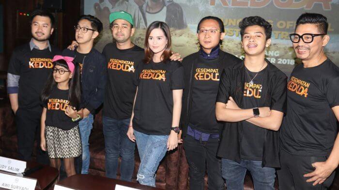 Film Terbaru RA Pictures KESEMPATAN KEDUDA Tayang Perdana Oktober