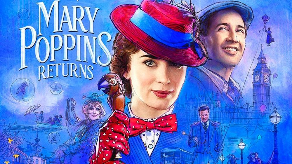 Walt Disney Studio Luncurkan Trailer Terbaru Sekuel MARY POPPINS RETURN
