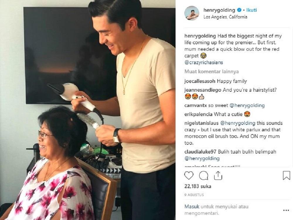 Lewat Aktingnya Di CRAZY RICH ASIANS Henry Golding Kini Bintang Hollywood