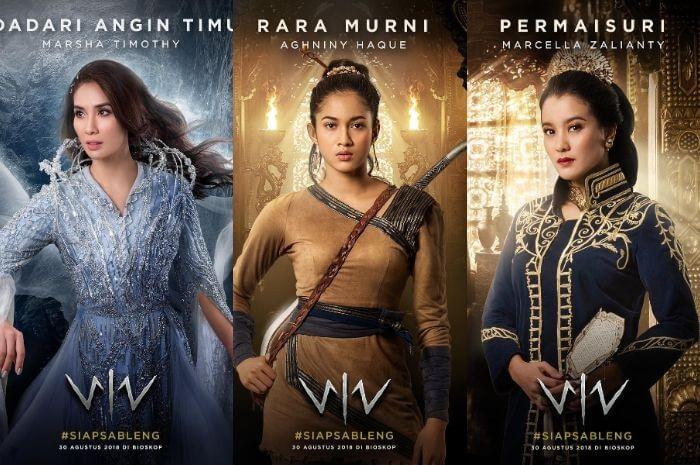 Aksi Memukau Para Pendekar Wanita Dalam Film WIRO SABLENG