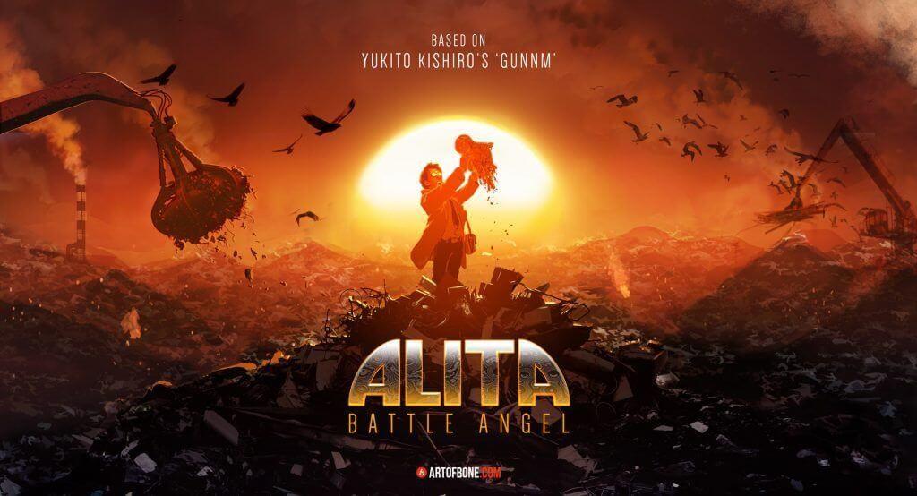 Century Fox Rilis Poster Dan Jadwal Tayang Terbaru Film ALITA: BATTLE ANGEL