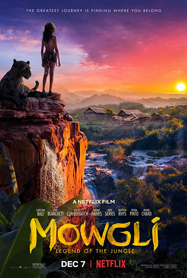 MOWGLI: LEGEND OF THE JUNGLE Film Arahan Andy Serkis Rilis Di Netflix – Simak Trailernya!