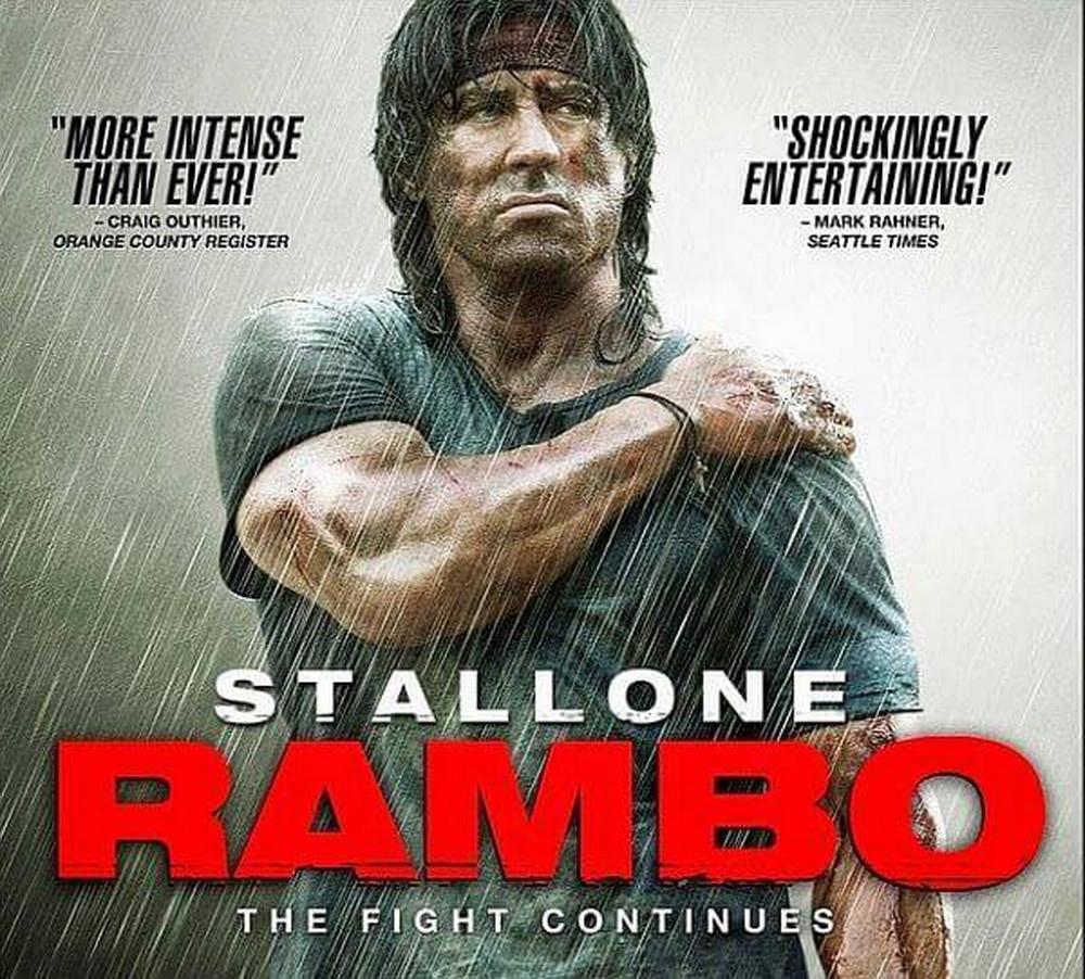 Penampilan Resmi Pertama Sylvester Stallone Di RAMBO 5: THE LAST BLOOD