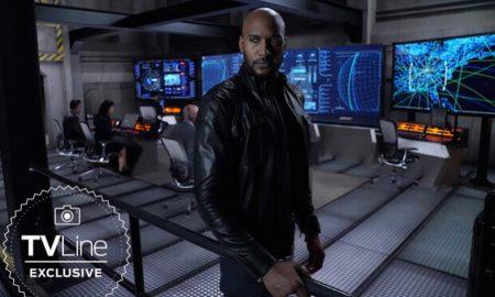 First Look Direktur Mack Dalam Serial AGENTS OF S.H.I.E.L.D.