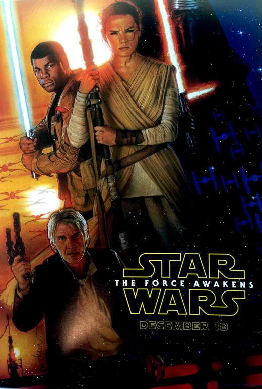 Star Wars Episode Vii The Force Awakens Movie Poster 2015 1020772833 Layar Id