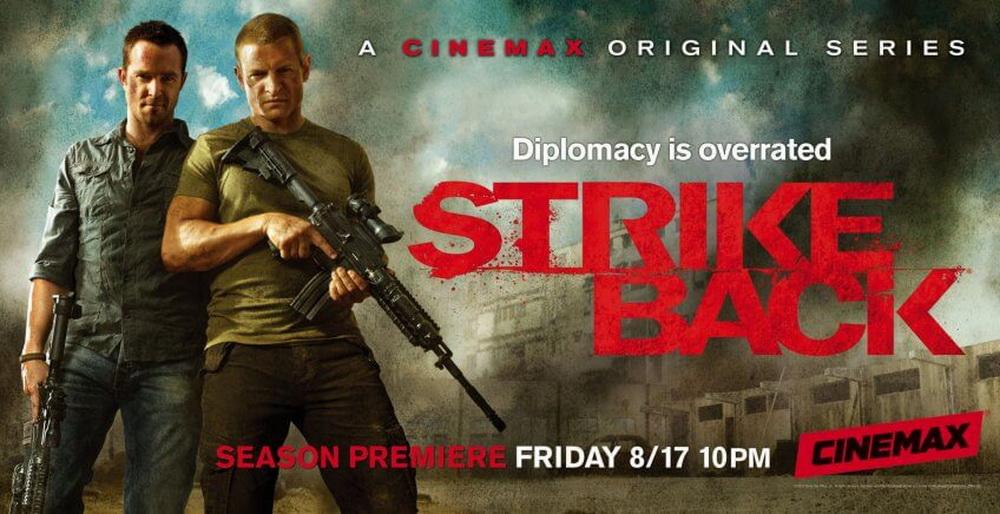 STRIKE BACK Season 6 Rilis Trailer, Pemeran Dan Jadwal Tayang Di Cinemax