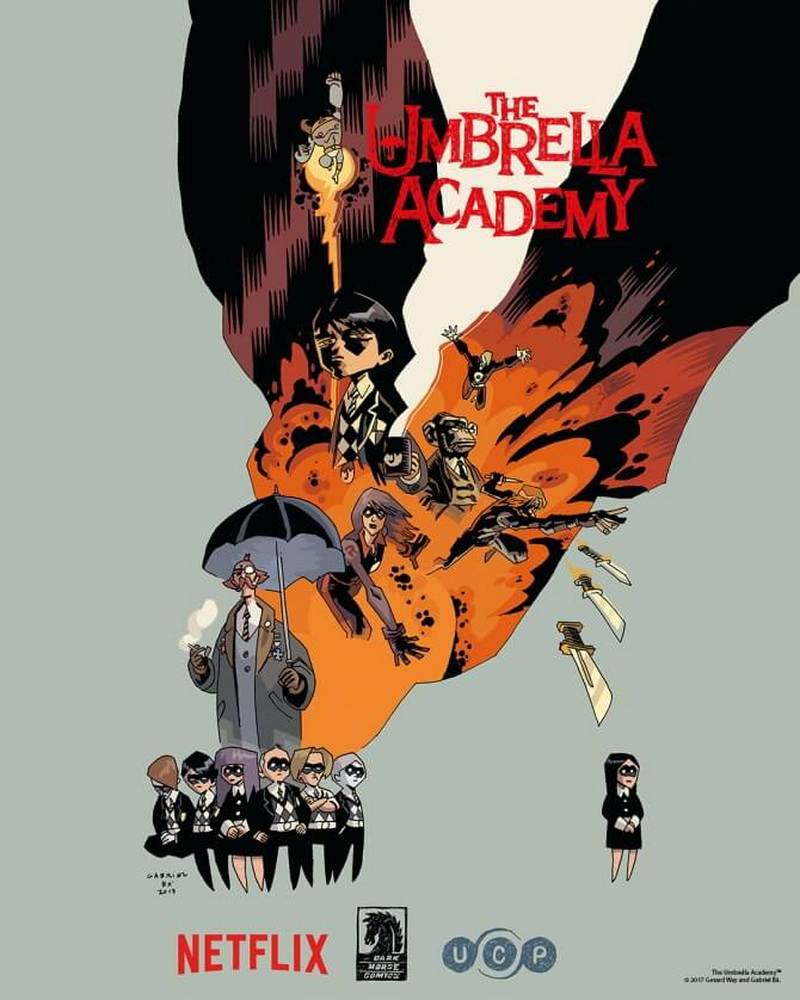 THE UMBRELLA ACADEMY - Rilis Poster Dan Jadwal Tayang Perdananya