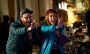 First Look LONG SHOT - Charlize Theron, Seth Rogen Terjun Ke Urusan Internasional