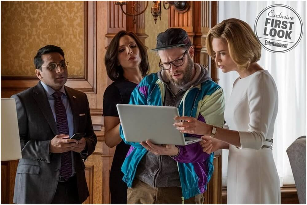 First Look LONG SHOT - Charlize Theron, Seth Rogen Terjun Ke Urusan Internasional