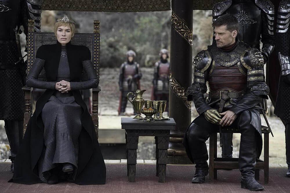 Poster Game of Thrones Season 8 Tampilkan Naga Iron Throne