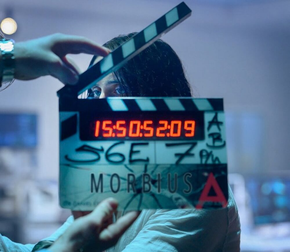 Jared Leto Pamer Foto Syuting MORBIUS