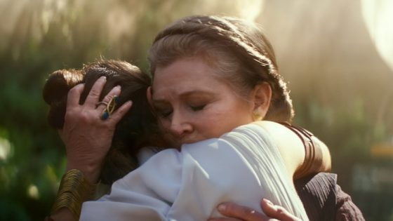 Karakter Carrie Fisher Ada Di Star Wars: The Rise of Skywalker