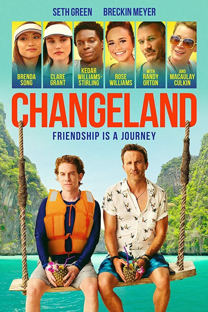 "Macaulay Culkin & Seth Green Berpesta di Thailand dalam Film ""Changeland"" (29 Mei 2019)"