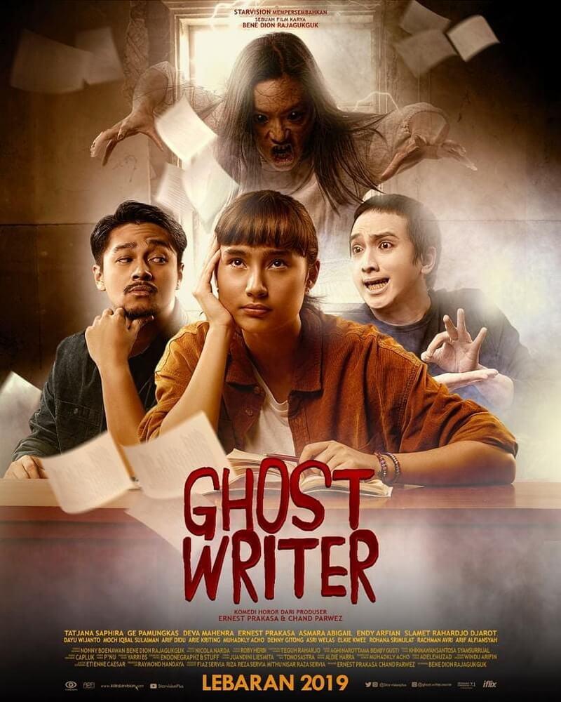 """Ghost Writer"", Film Keluarga Berbalut Horor Komedi"