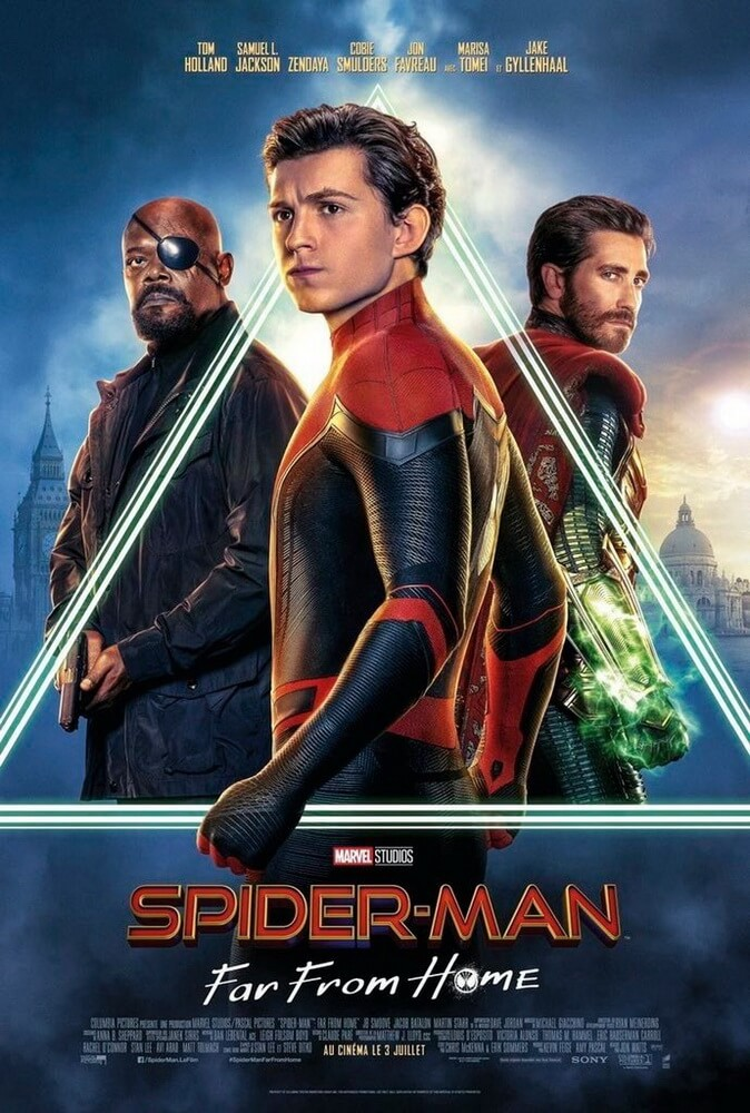Intip Poster Karakter Utama dari Spider-Man: Far From Home