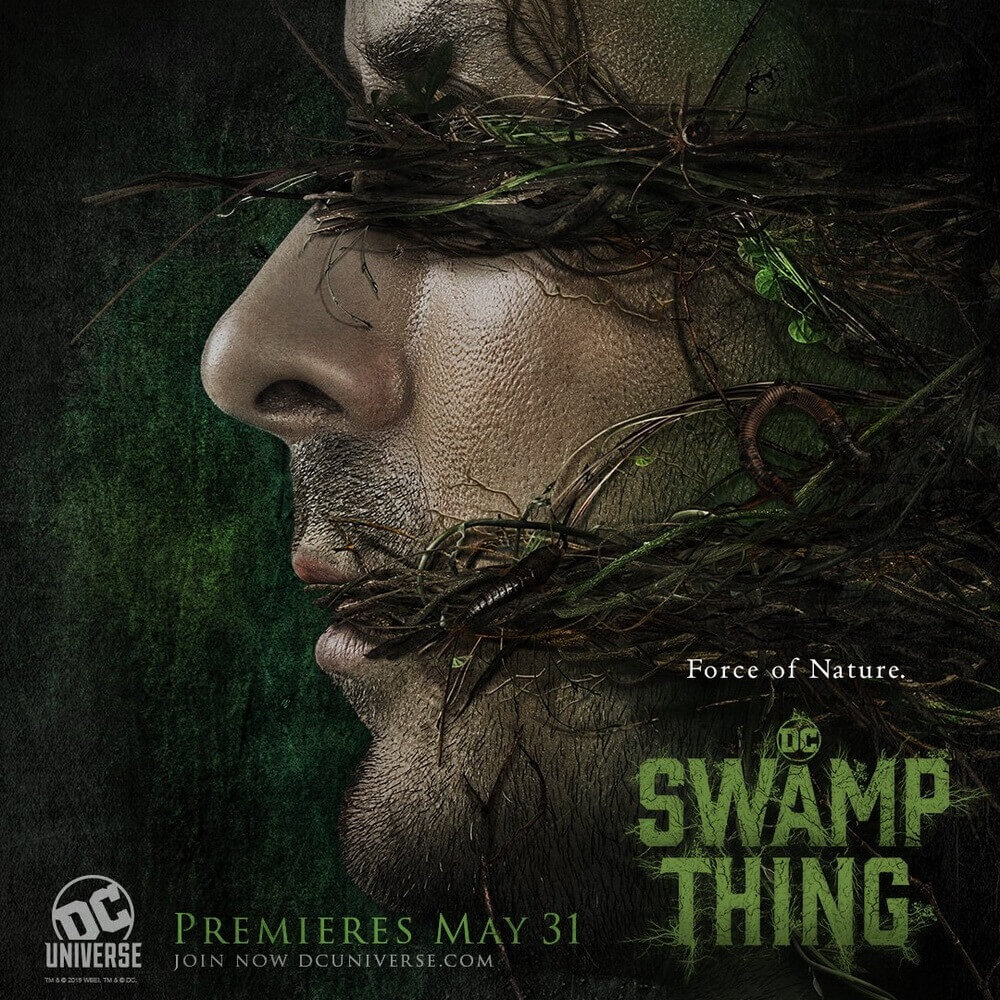 Hadirkan Dua Poster Mengerikan, Serial 'Swamp Thing' Siap Debut