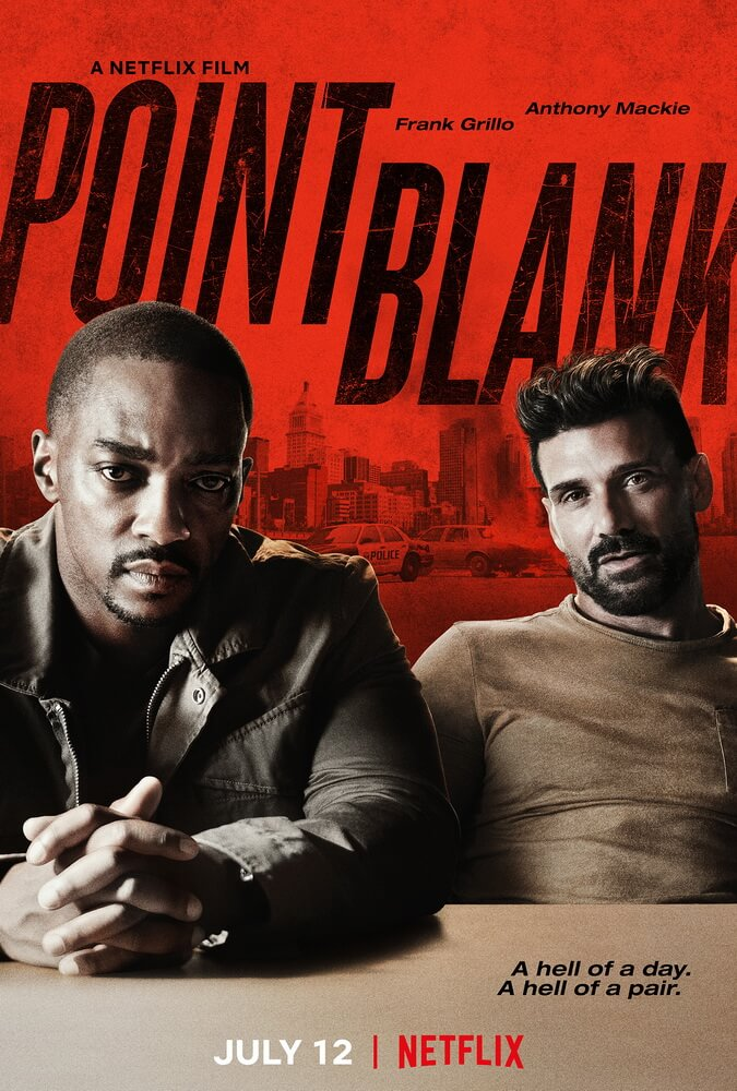 Point Blank, Satukan Anthony Mackie dan Frank Grillo