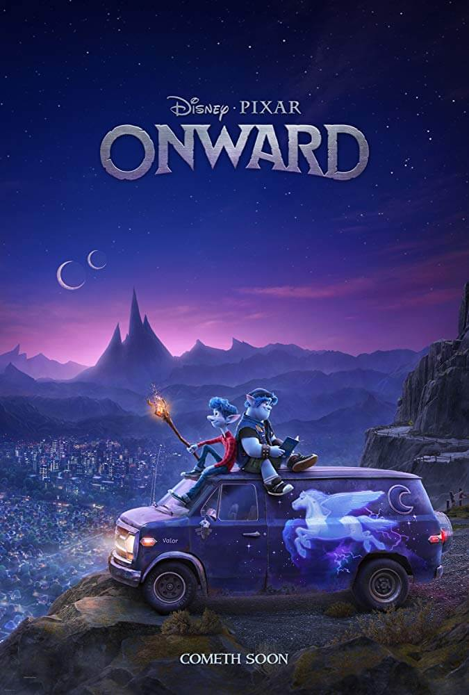 Ikuti Perjalanan Magis Chriss Pratt dan Tom Holland Dalam Film ONWARD