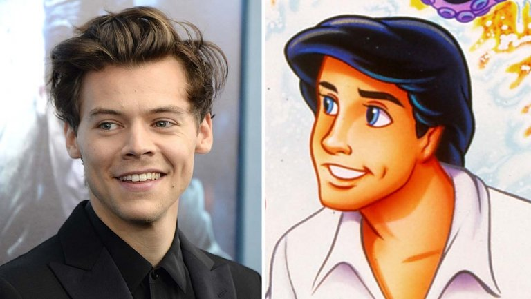 Image result for ​Harry Styles eyed for role of Prince Eric in 'The Little Mermaid'
