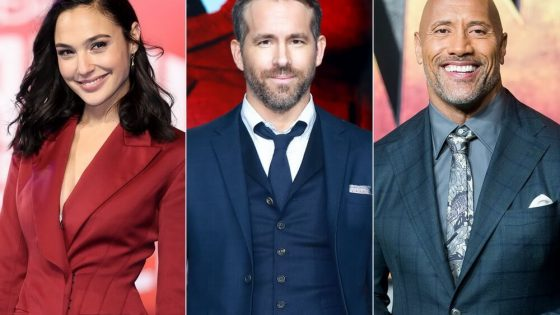 Ryan Reynolds Gabung Dwayne Johnson dan Gal Gadot di Film Red Notice