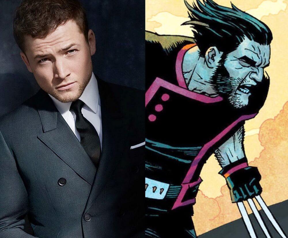 Taron Egerton Tanggapi Rumor Peran Sebagai Wolverine di MCU