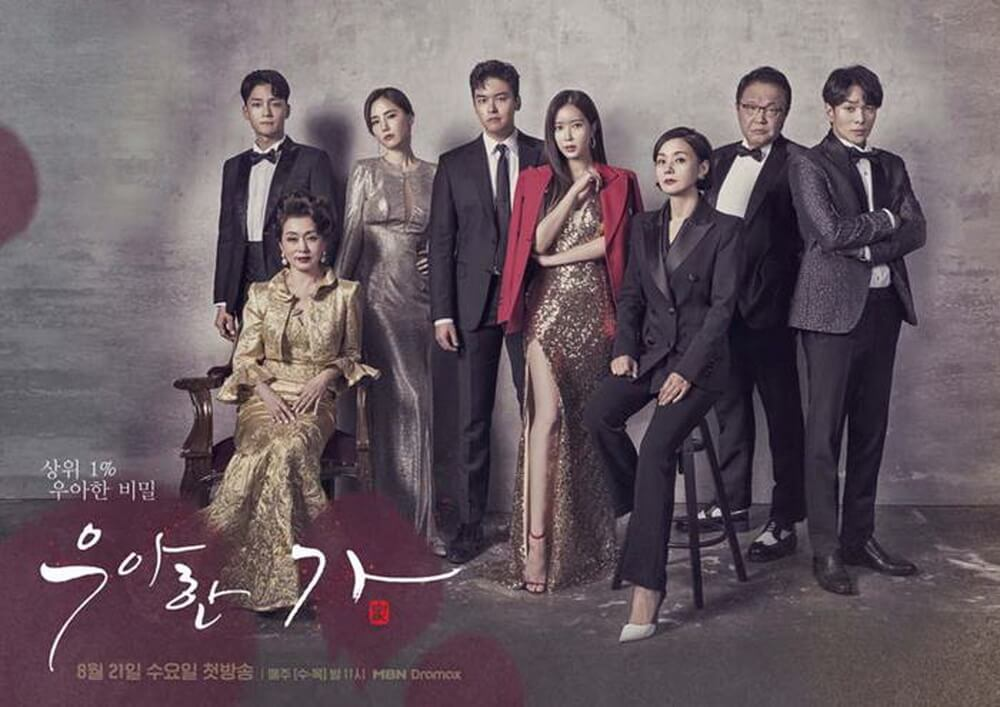 "Drama ""Graceful Family"" Duet Akting Lee Jang Woo dan Im Soo Hyang"