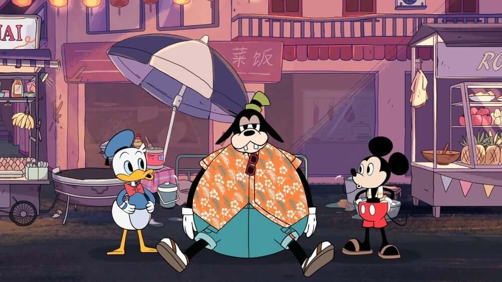 """Mickey Go Local"" – Mickey Mouse Jualan Sate di Singapura?"