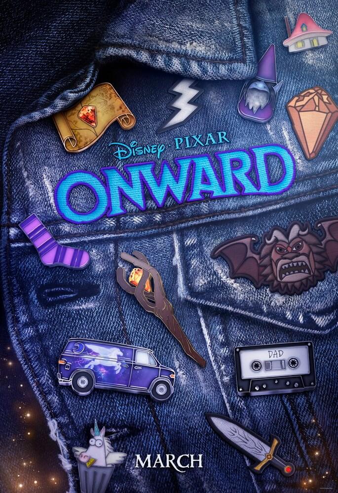 """Poster Baru """"Onward"""" Ungkap Karakter Pratt dan Holland"""