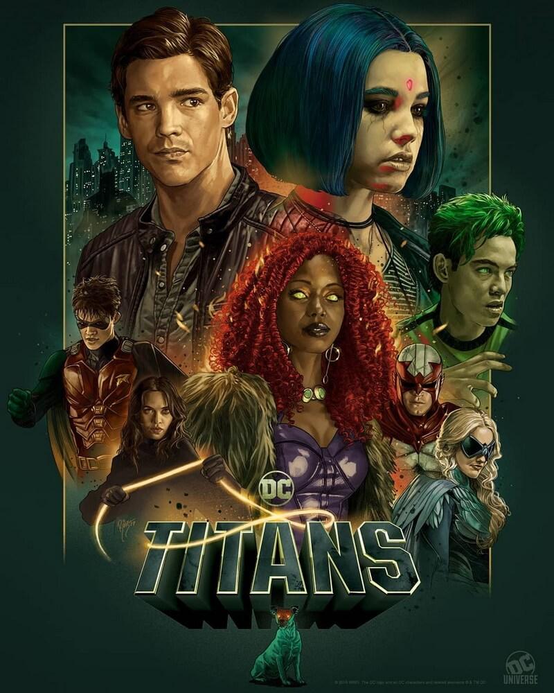 "Trailer DC ""Titans"" Musim 2 Ungkap Karakter Bruce Wayne"