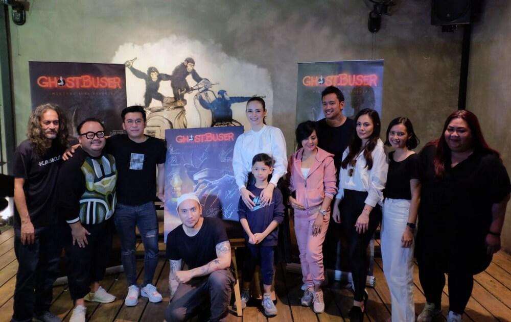 """""""Ghostbuser"""" Horor Komedi Debut Sutradara Tora Sudiro"""