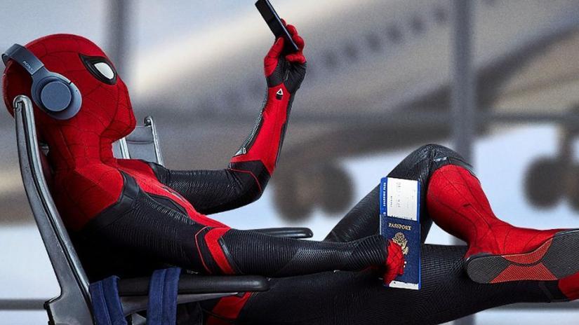 Spiderman dengan kostum baru