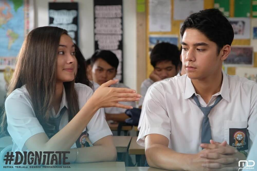 """Di Film """"Dignitate"""", Al Ghazali Jatuh Cinta Pada Caitlin Halderman"""