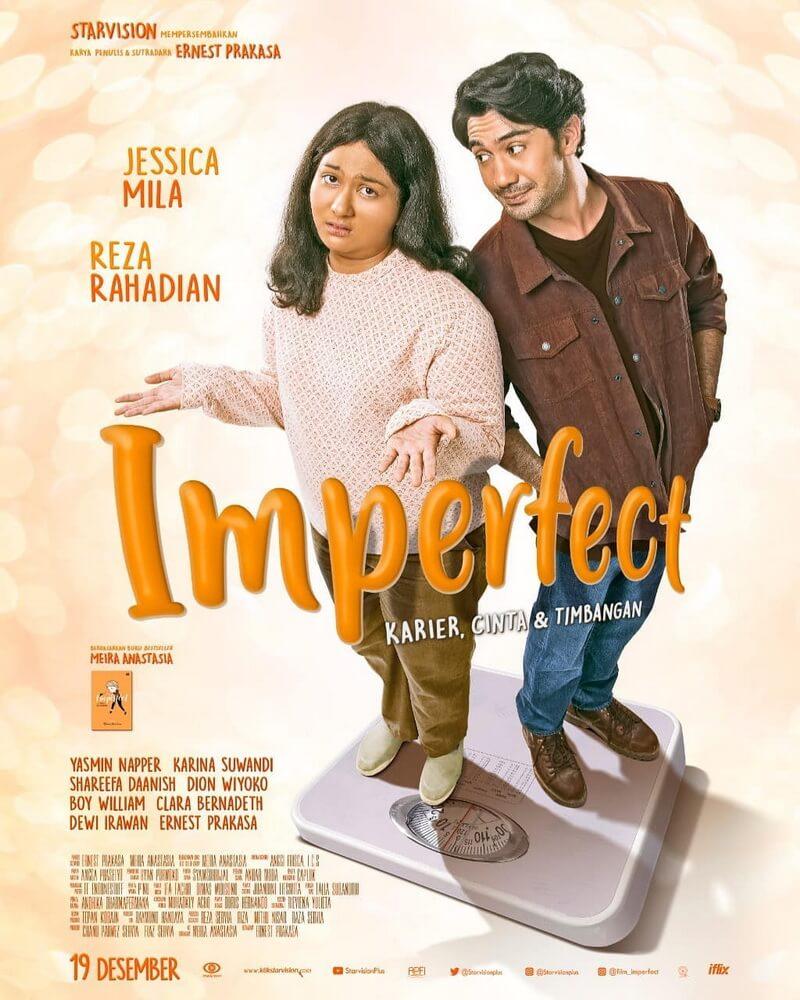 Poster Film Imperfect: Karier, Cinta & Timbangan