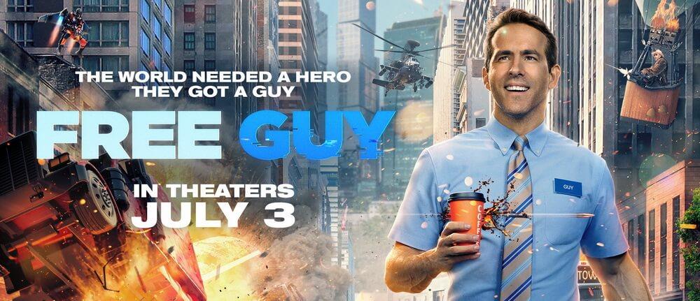 """Ryan Reynolds Jadi Petarung Video Game Di """"Free Guy"""""""