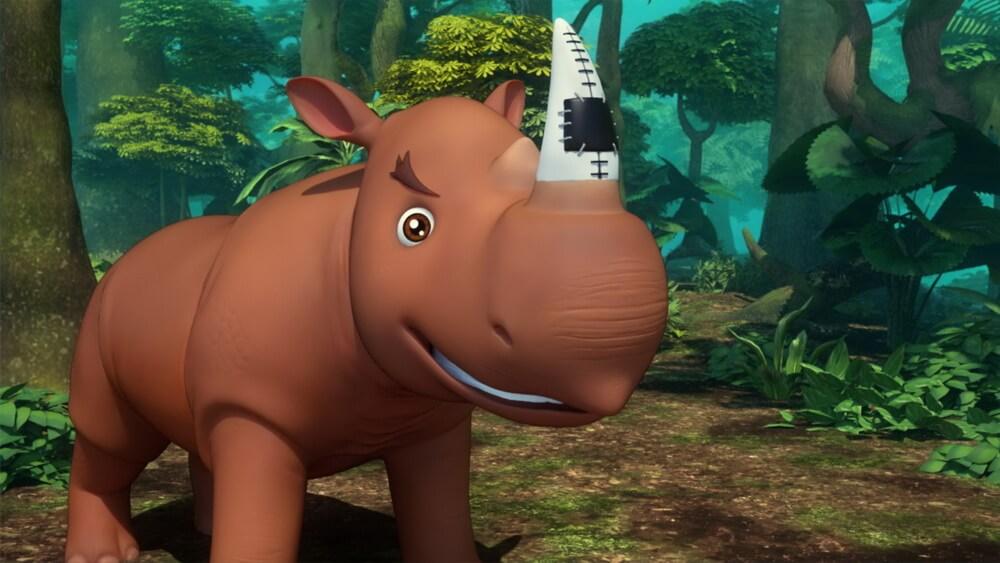 """Film Animasi """"Riki Rhino"""" Usung Pesan Pelestarian Satwa Langka"""