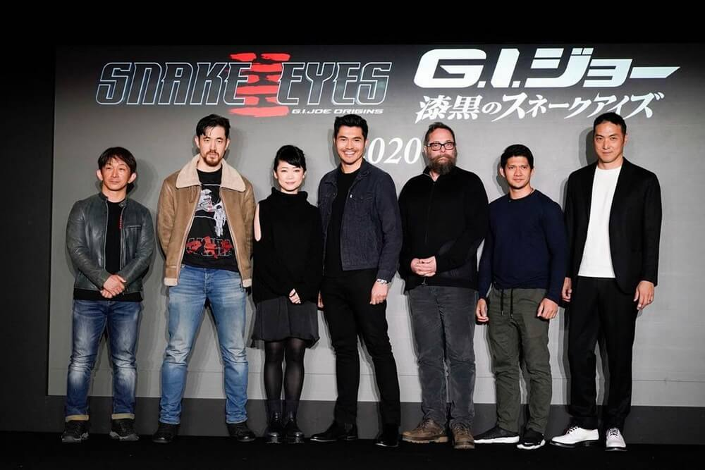 """First Look Henry Golding di Film """"Snake Eyes"""""""