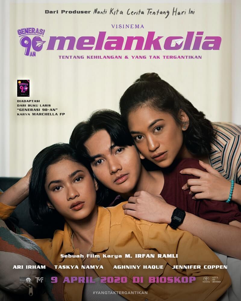 """""""Generasi 90-an: Melankolia"""" Luncurkan Official Poster dan Trailer"""
