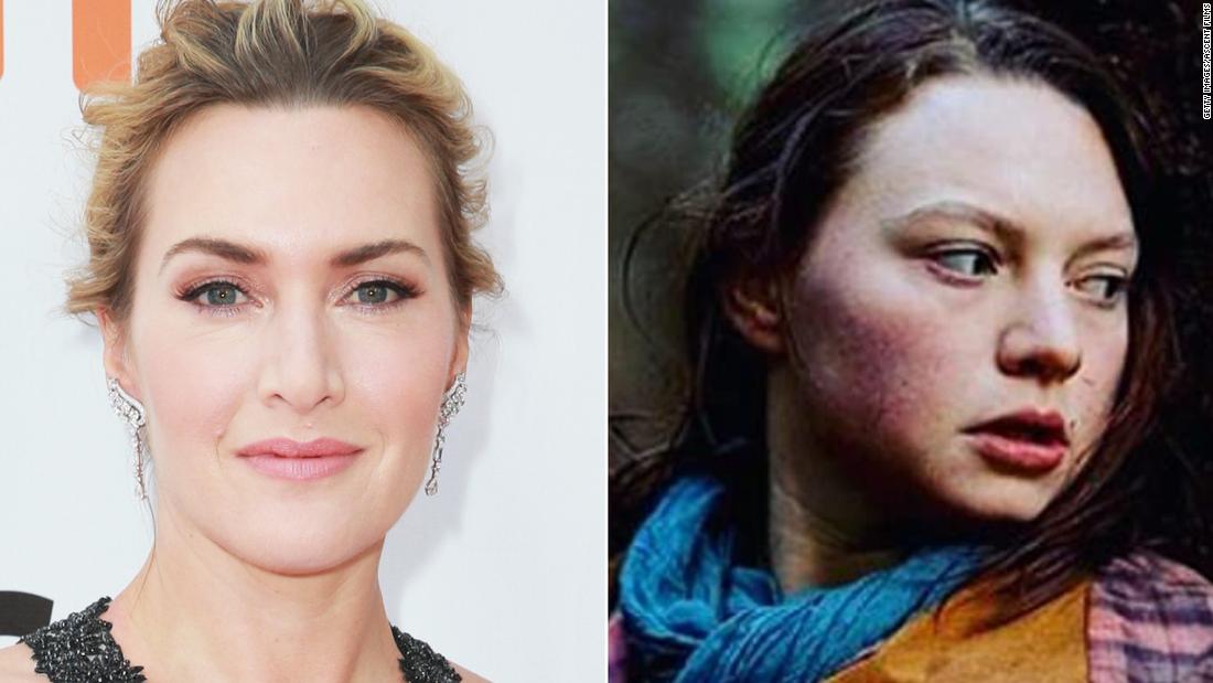 Kate Winslet dan Mia Threapleton