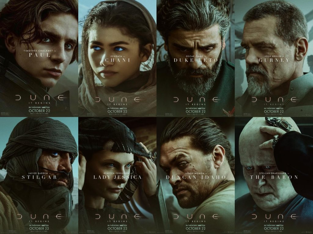 Dune Character Poster